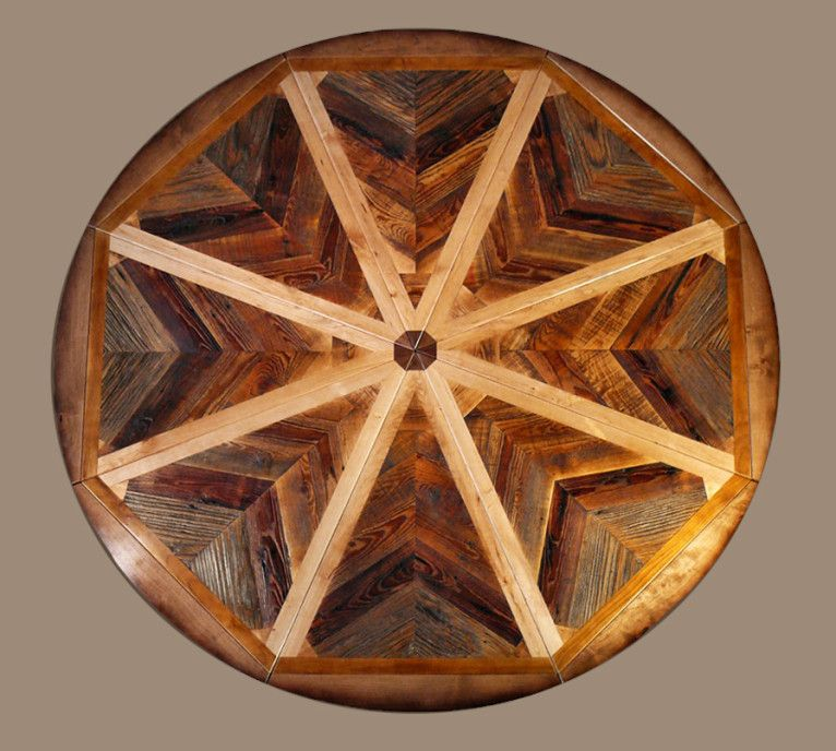 Expanding Round Table From Western Heritage Furniture Available Online