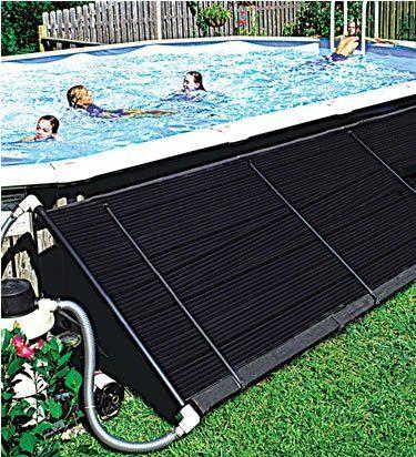 DIY Portable Solar Entire Pool Water Heater.