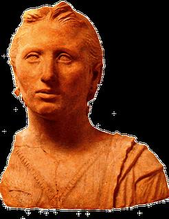 Bust Etruscan woman