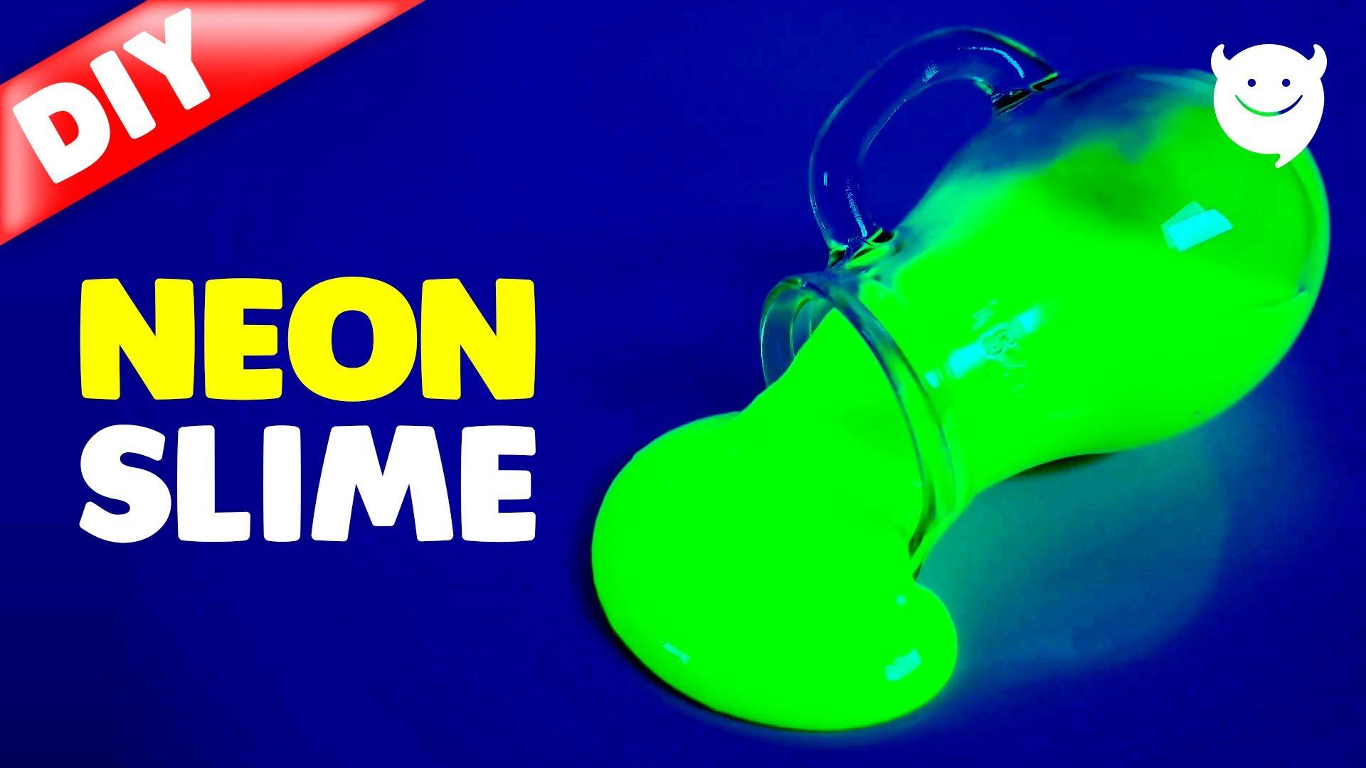 How to make neon slime diy dark slime make slime pinterest how to make neon slime diy dark slime ccuart Images