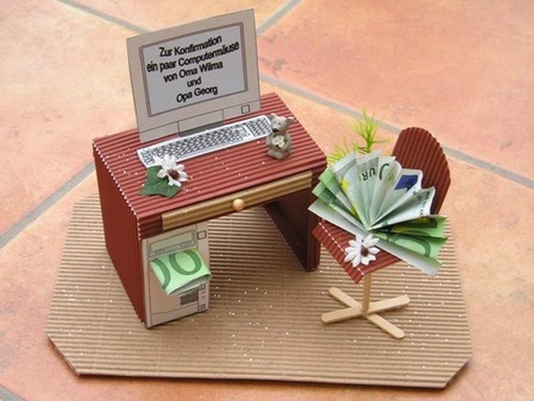originelles geldgeschenk zum basteln geldgeschenke pinterest geschenke geld und geschenke. Black Bedroom Furniture Sets. Home Design Ideas
