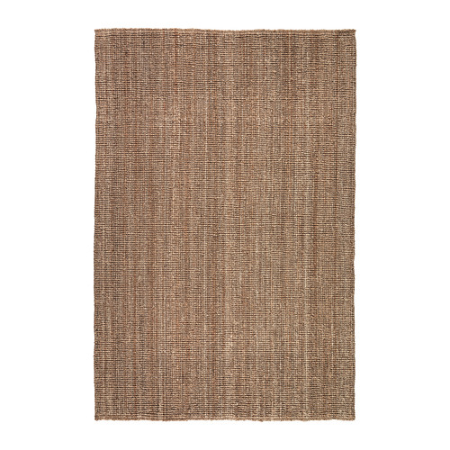 IKEA - LOHALS, Tæppe, fladtvævet, 160x230 cm, , Jute er et slidstærkt og genanvendeligt materiale med naturlige farvevariationer.