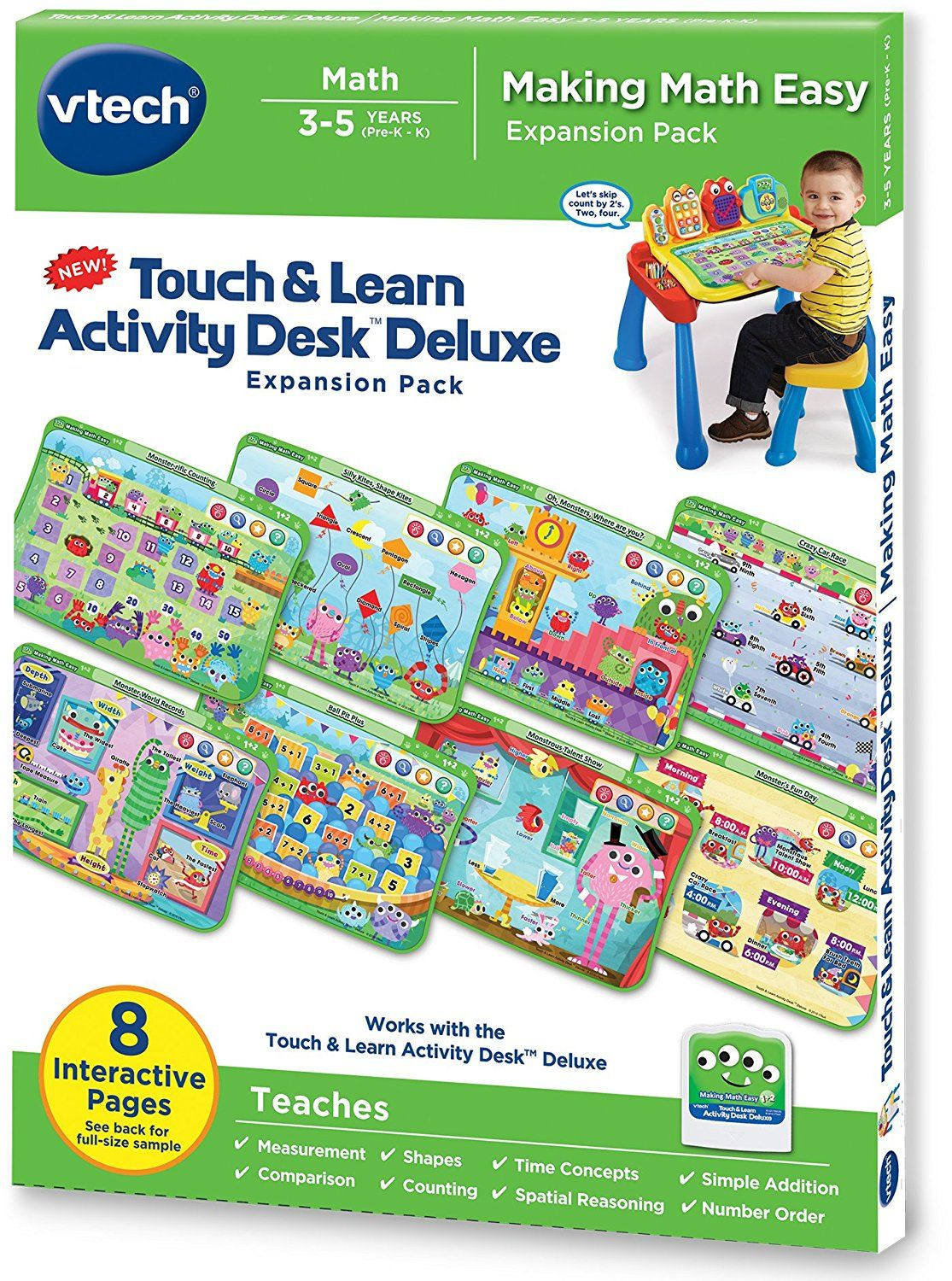 Buy Vtech Touch And Learn Activity Desk Deluxe Making