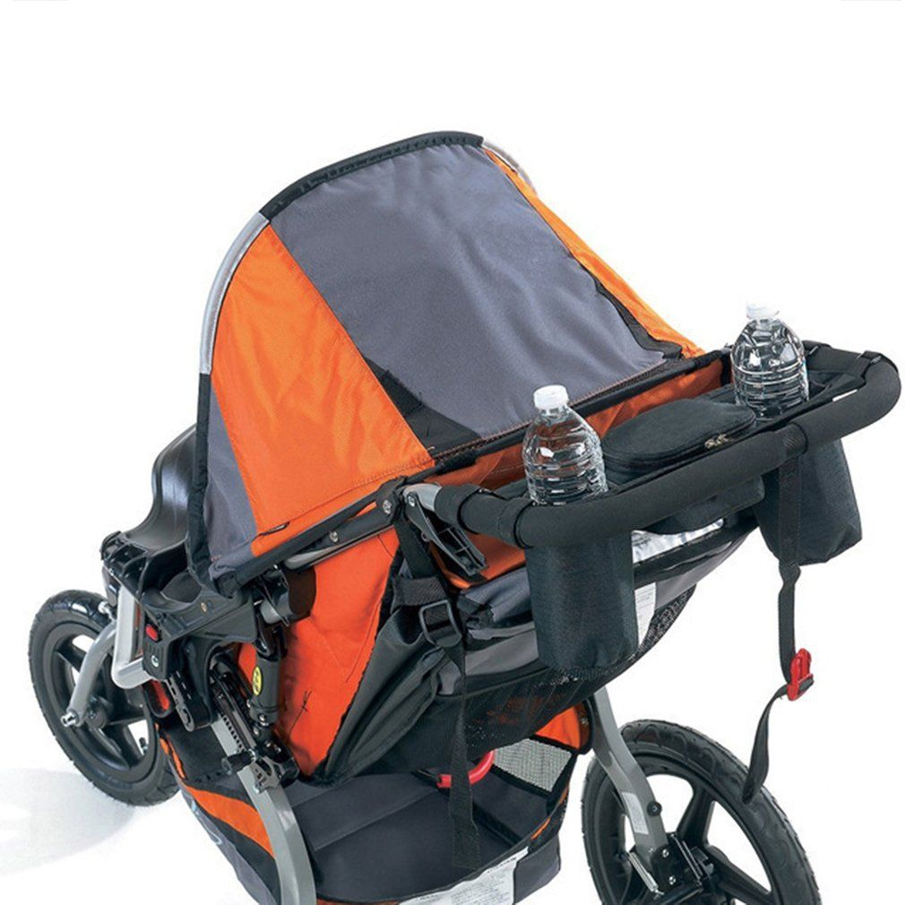New Hot Baby Parents Trolley Storage Neckband Hanging Tray