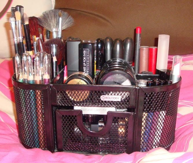 How to organize makeup | Organizing your cosmetics | Pinterest ...