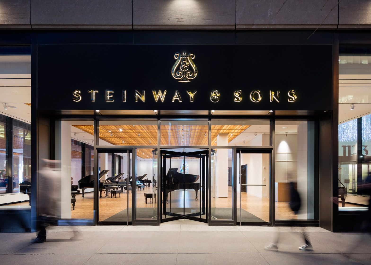 Steinway Sons New York Showroom By Annabelle Selldorf Steinway Steinway Grand Piano Piano