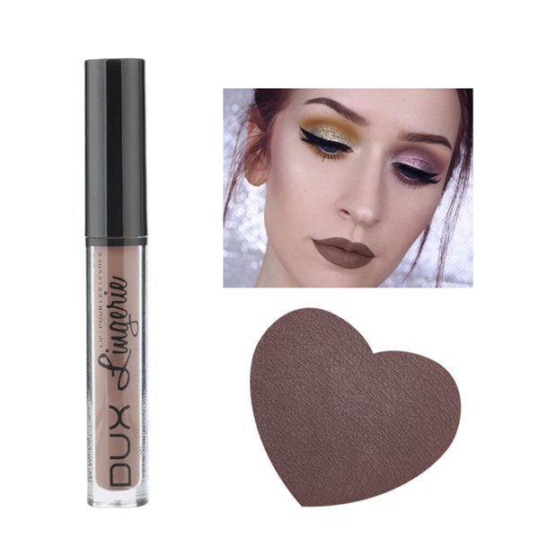 Fashion Brand Metallic Makeup Waterproof Liquid Matte Lipstick Long Lasting Lip Gloss Makeup Cosmetics 15 Colors For Girls Women