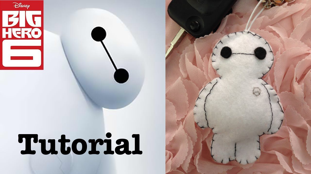 DIY Baymax keychain video tutorial! Made your own little