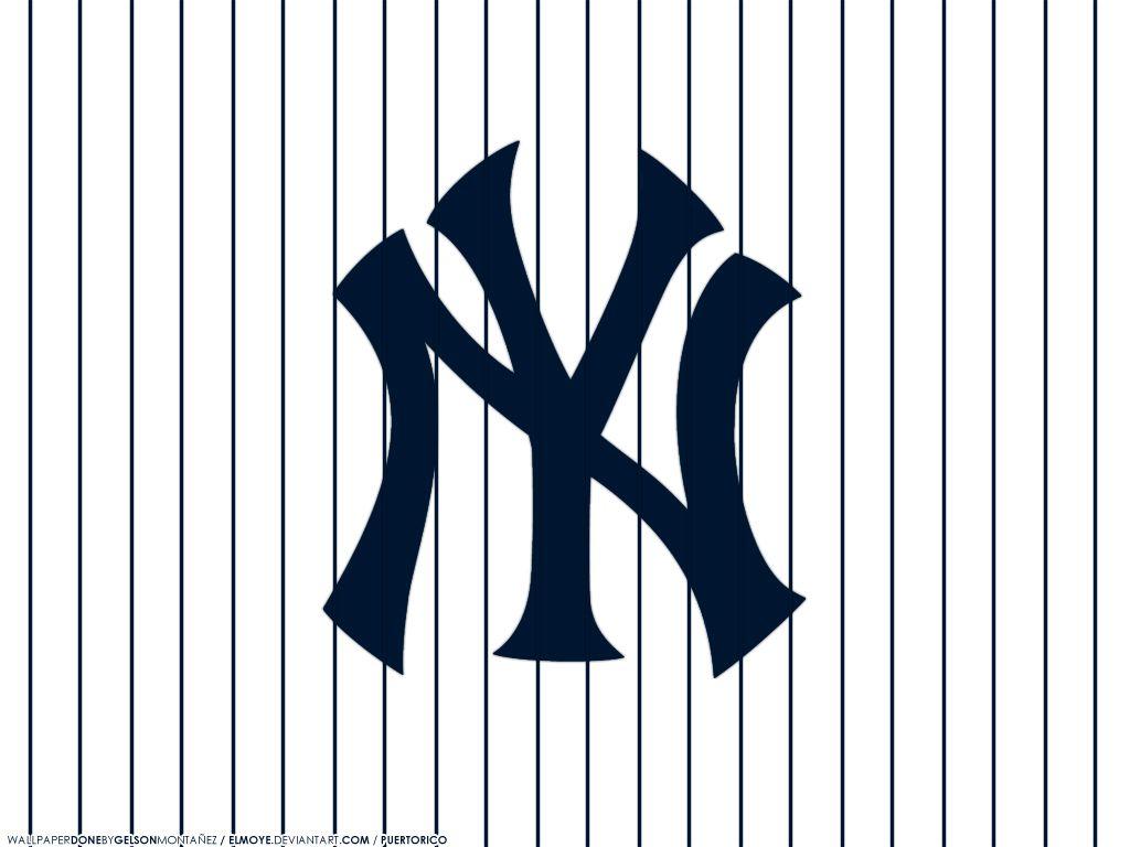 New York Yankees Merchandise Wallpaper New York Yankees Wallpaper By Elmoye On Deviantart New York Yankees Logo Yankees Logo New York Yankees