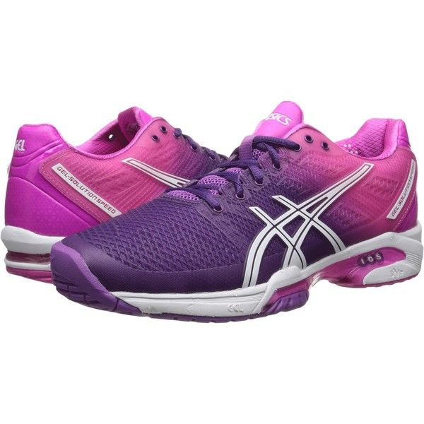 ASICS Gel Solution Speed ​​2 (Violet 19912/ Blanc Tennis/ (Violet Rose Vif) Tennis Femmes 0556711 - newboost.website