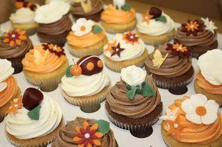 The Little House of Cupcakes: Autumn wedding at Singleton Lodge