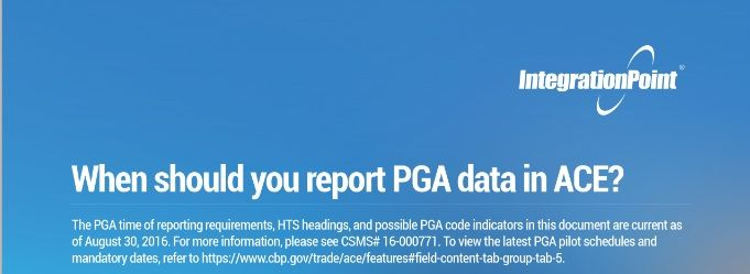 When Should You Report PGA Data in ACE? Duty Deferral Programs - board report