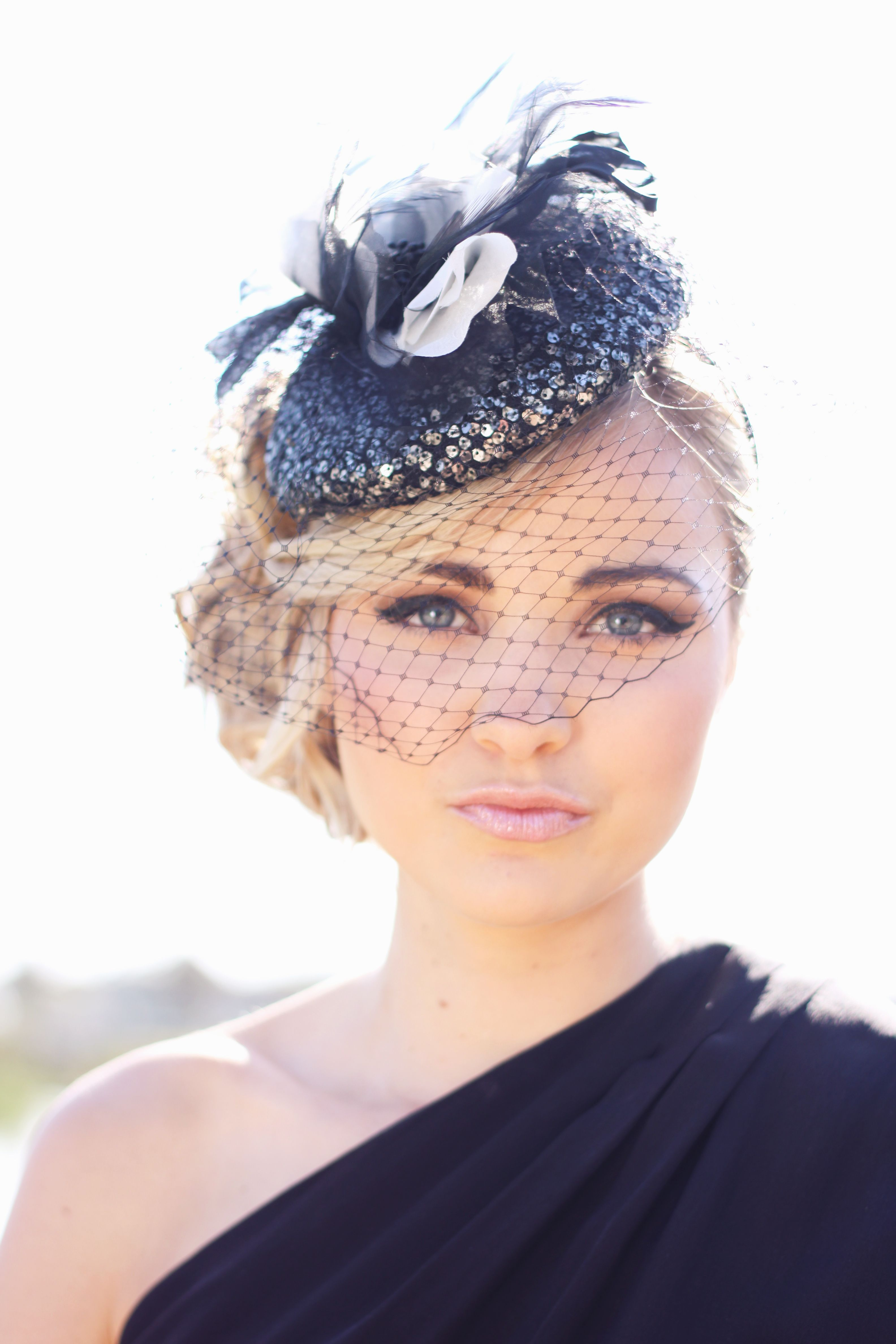 Meet  Alison  our sparkling fascinator. Sequins are very much in style this  year c22405995c0