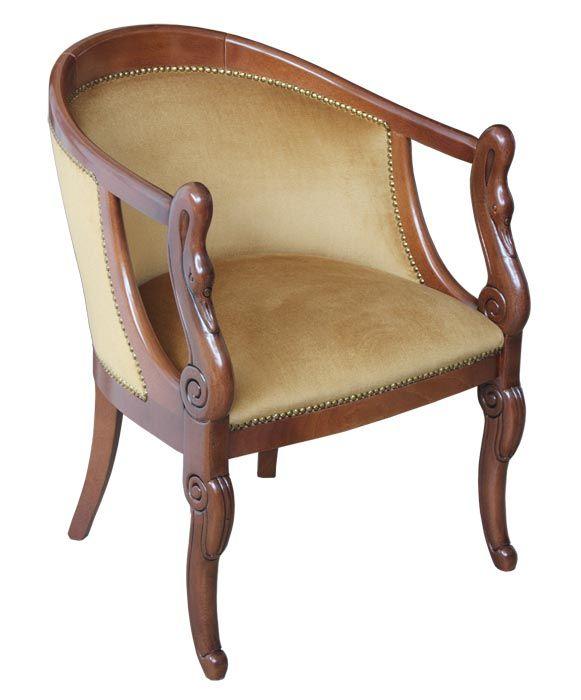 Klassische Sessel kleiner sessel schwan klassik frank möbel 5025 by
