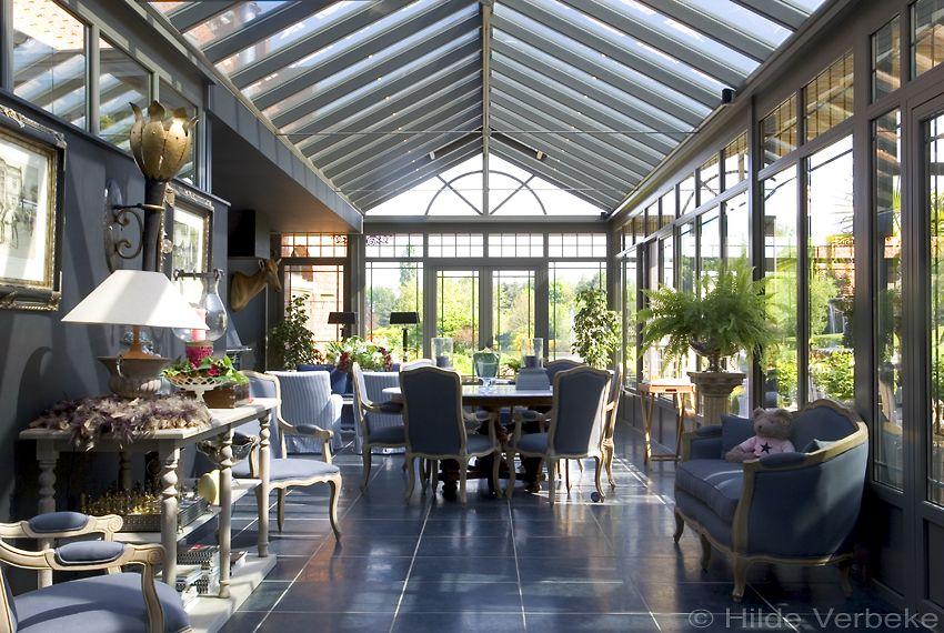 Indrukwekkende orangerie met klassiek interieur de mooiste