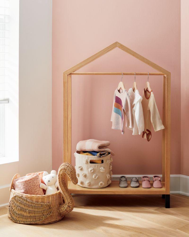 house shaped garment rack