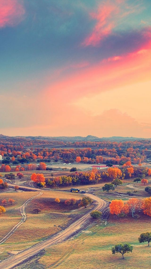 1136 X 640 Sunset Landscapes Mobile Wallpaper Mobiles Wall Sunset Landscape Scenery Photography Beautiful Scenery Photography