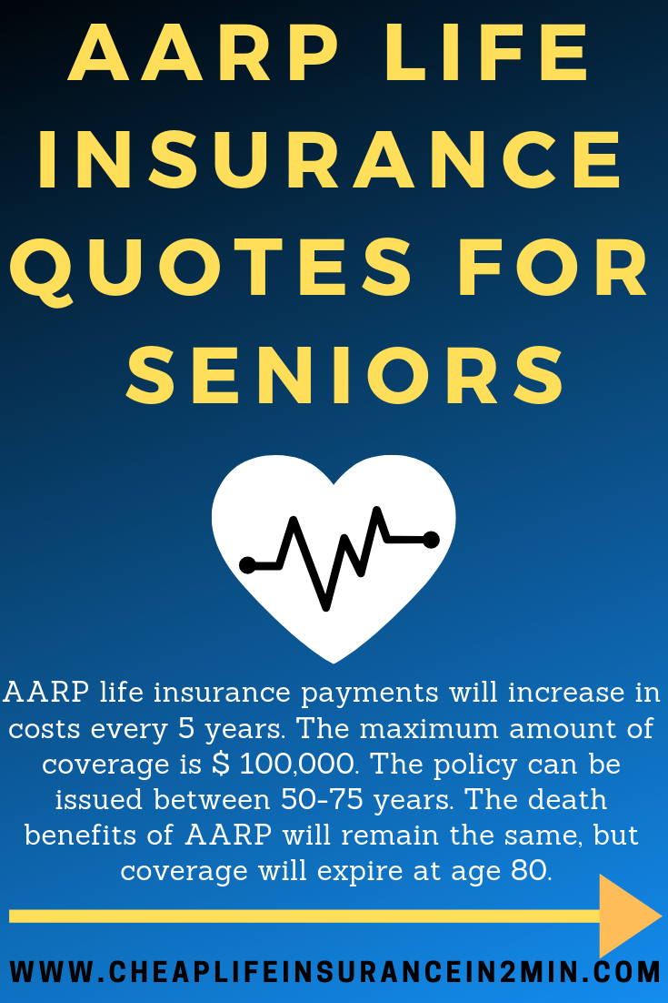 AARP LifeInsurance Quotes for Seniors Applicants answer