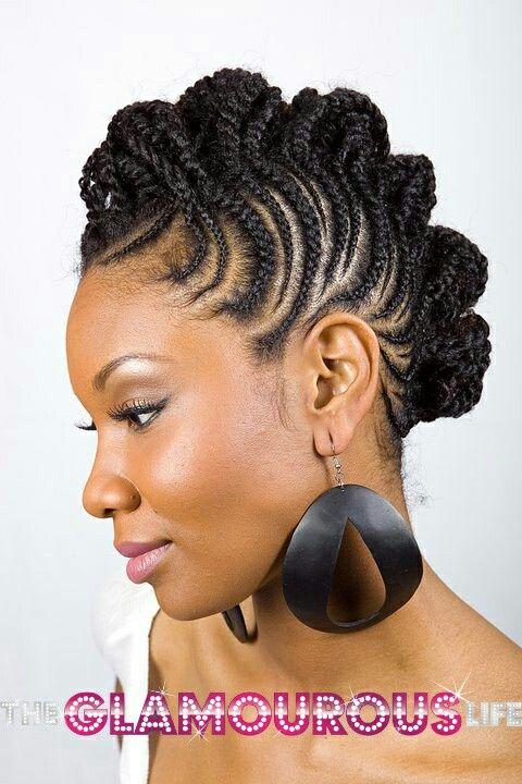 Ethiopian Cornrows With Images Natural Hair Braids Black