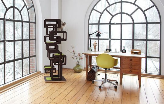 German Designer Cat Trees From Wohnblock