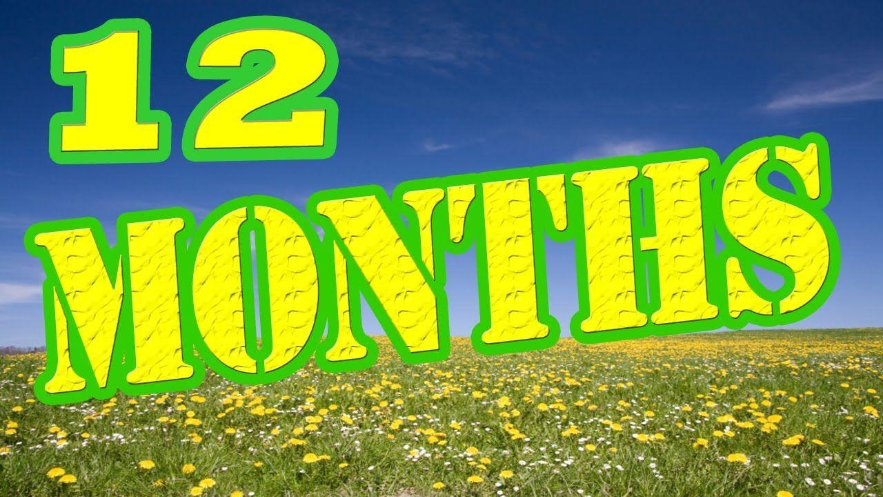 12 Months of the Year Song - Months of the Year Song - Children\'s ...