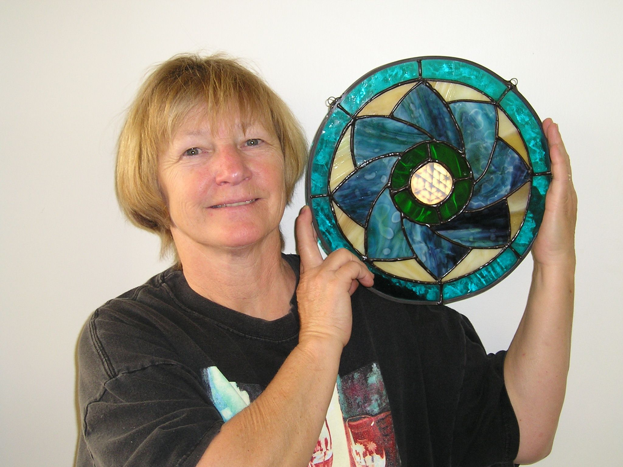 2 - Diane's first window, foil method.