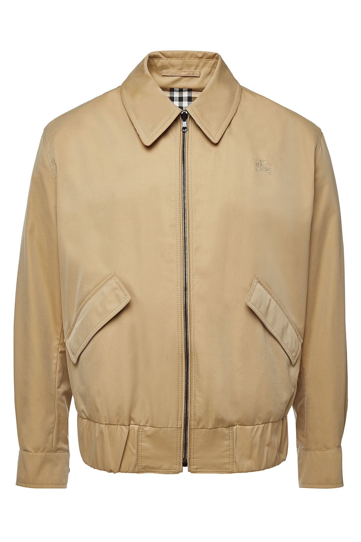 Burberry Stratford Reversible Cotton Bomber Jacket In Beige Modesens Bomber Jacket Jackets Mens Bomber [ 1800 x 1200 Pixel ]