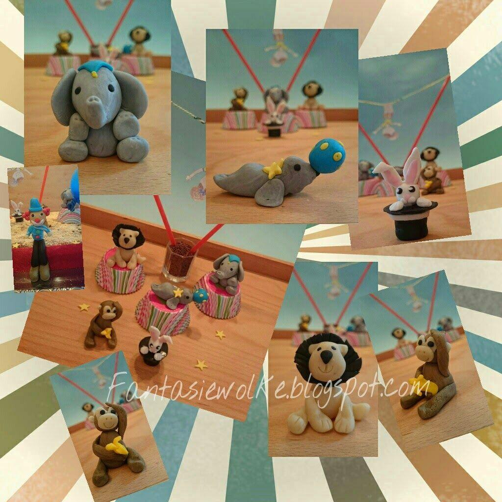 Sandra´s Fantasiewolke: Zirkus Kuchen | torten | Pinterest | Zirkus ...