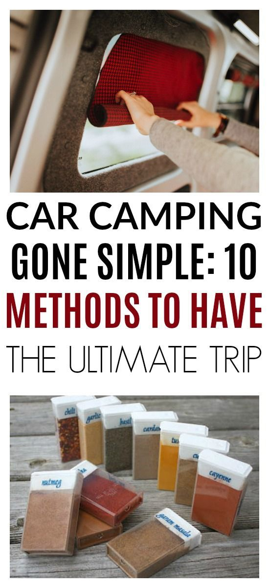 Photo of 10 of the best car camping hacks ever