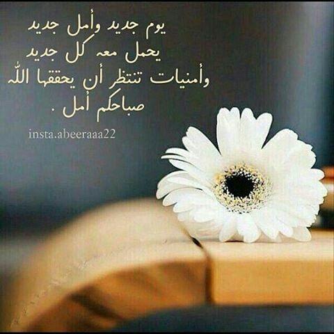 يوم جديد وأمل جديد يحمل معه كل جديد صباحكم أمل أحبتي Islamic Quotes Arabic Quotes Quotes