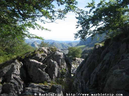 Vega de Ario hut hike, lake Ercina, Peaks of Europe mountains, Asturias.