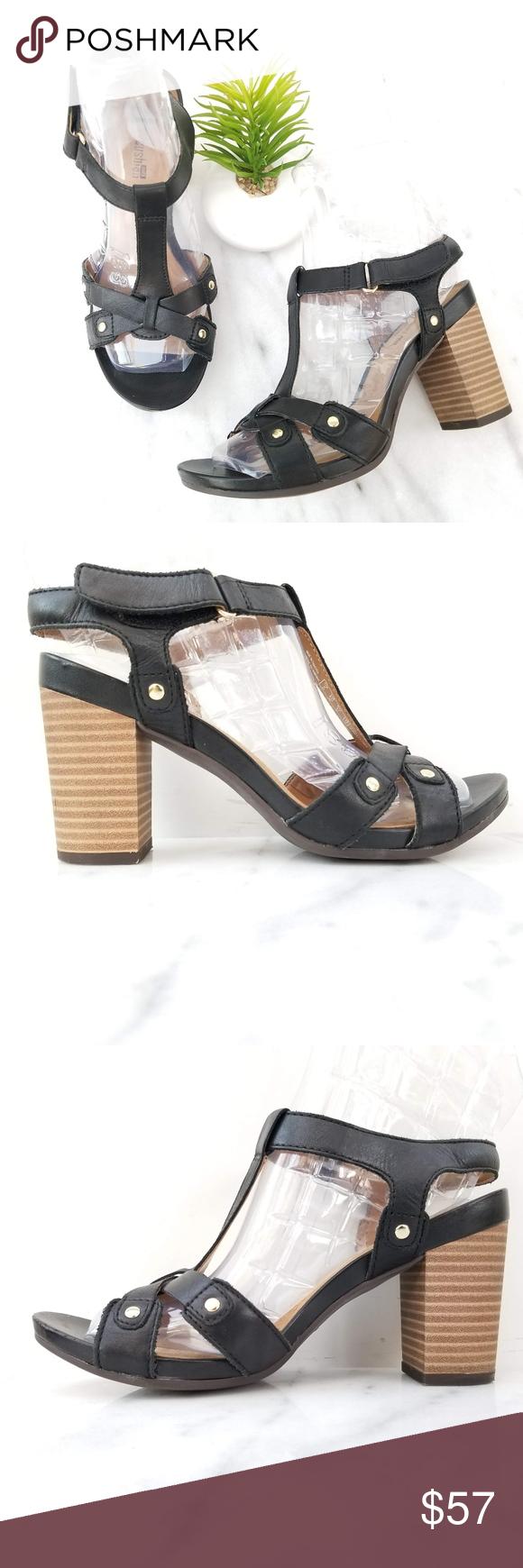 645ff0386071 CLARKS Banoy Valtina Open Toe Sandal T-Strap Black CLARKS Banoy Valtina  T-Strap