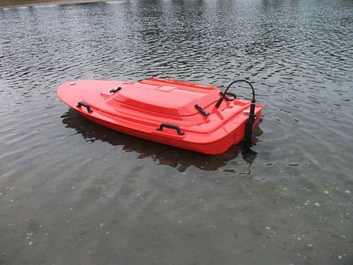 Oceanographic survey marine drone / teleoperated / mini monohull Q ...