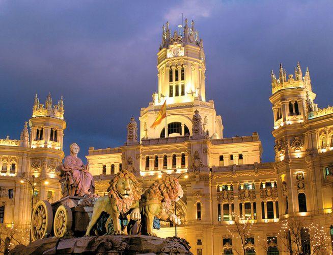 Plaza Cibeles Madrid Jpg 654 500 Cibeles Madrid Plaza Cibeles Cibeles