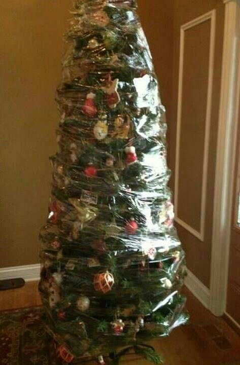 How To Store Your Artificial Tree The Easy Way Genius Fake Christmas Trees Christmas Humor Christmas Tree