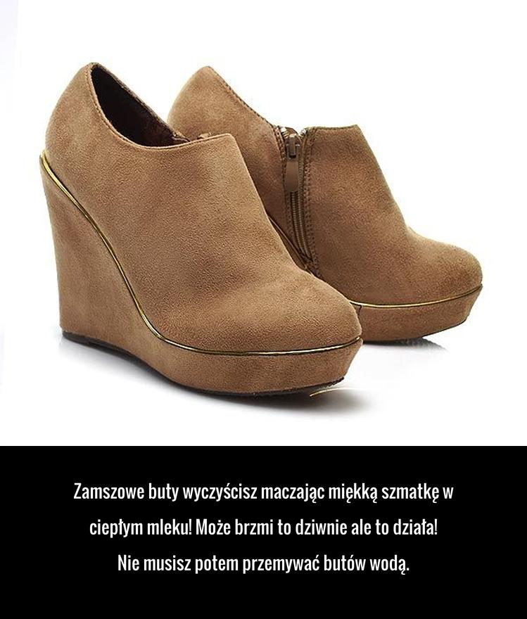 Super Sposob Na Czyszczenie Zamszu Boots Shoes Household Remedies