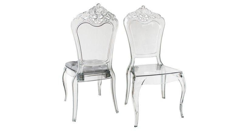 chaise design en plexiglass astorga. Black Bedroom Furniture Sets. Home Design Ideas