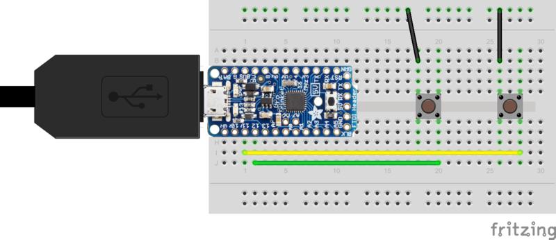Pro Trinket Keyboard Tutorial Use Pro Trinket as a USB