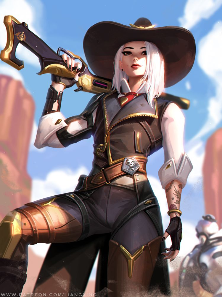 Ashe by Liang-Xing on DeviantArt   Game Art in 2019