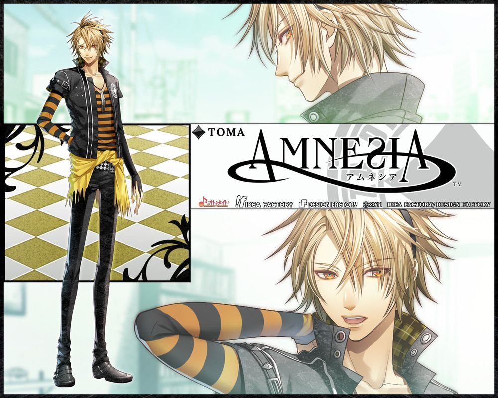 Toma Amnesia Anime Characters Database Amnesia anime