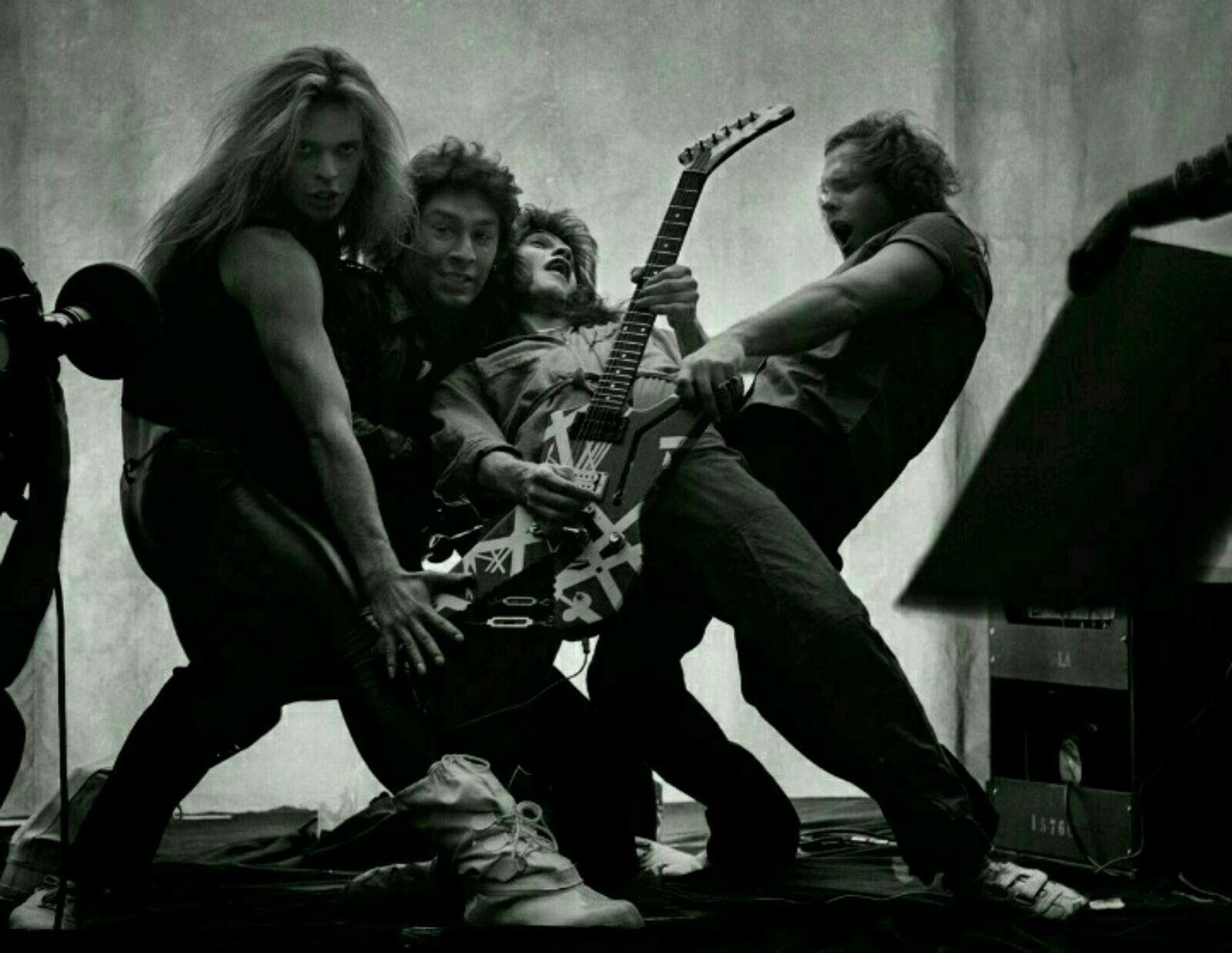 One Of The Best Rock Photos Ever Van Halen Van Halen Eddie Van Halen Alex Van Halen