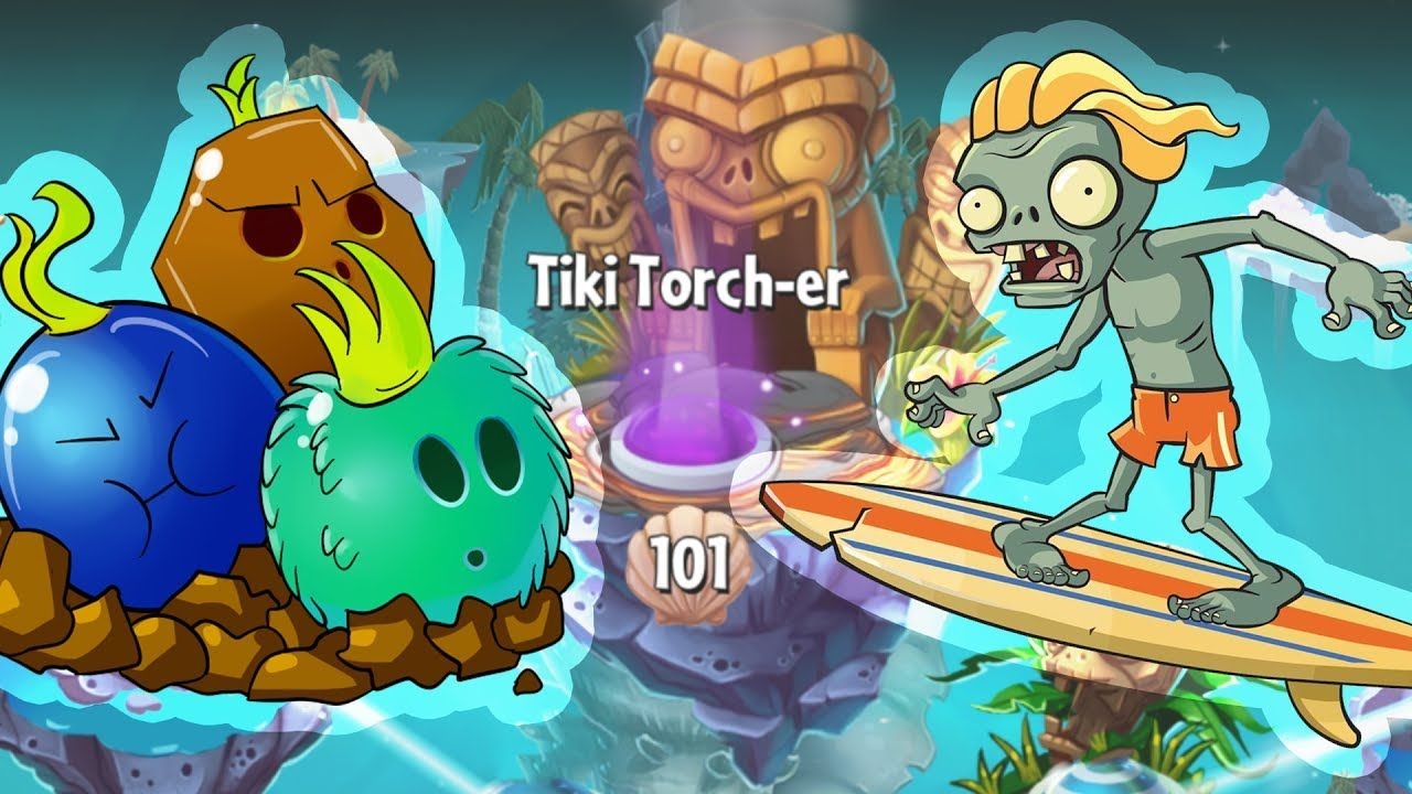 Plants vs zombies 2 big wave beach zombies in endless tiki torcher plants vs zombies 2 big wave beach zombies in endless tiki torcher lv100 voltagebd Choice Image