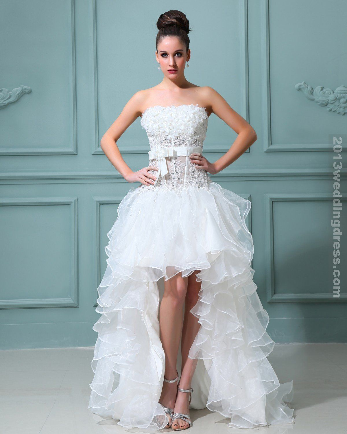 Images of Wedding Dresses For Short Brides - Reikian