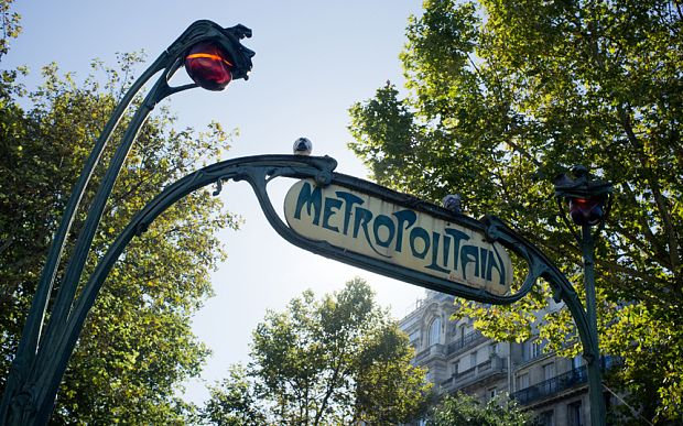 The entrance to Pigalle metro station  Photo: ALAMY  Edith Piaf's Paris