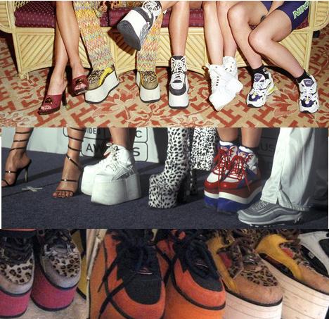 Buffalo platforms SPICE GIRLS | Spice