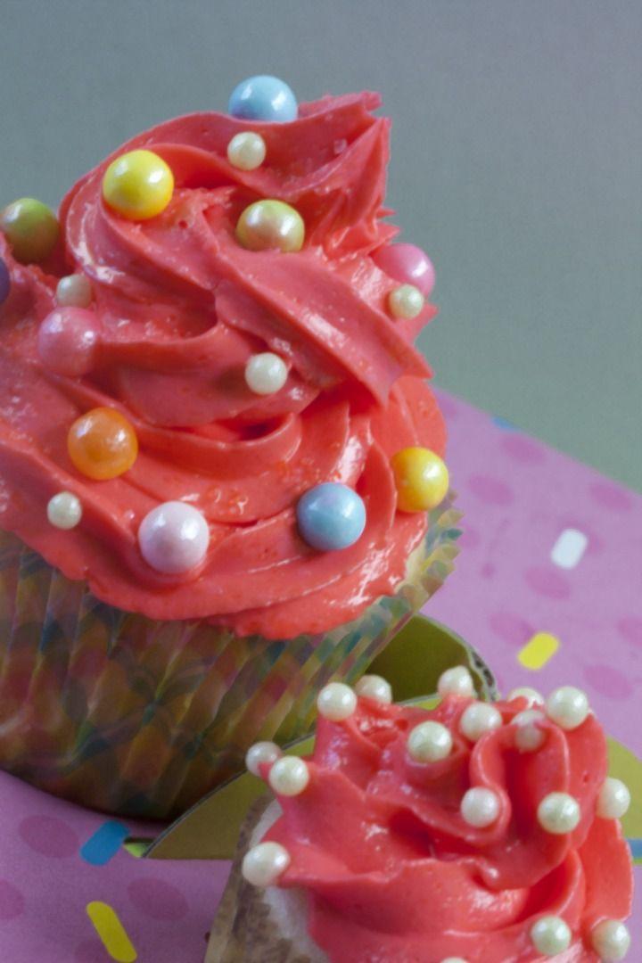 #fun #cupcakes #kidsbirthday #pink