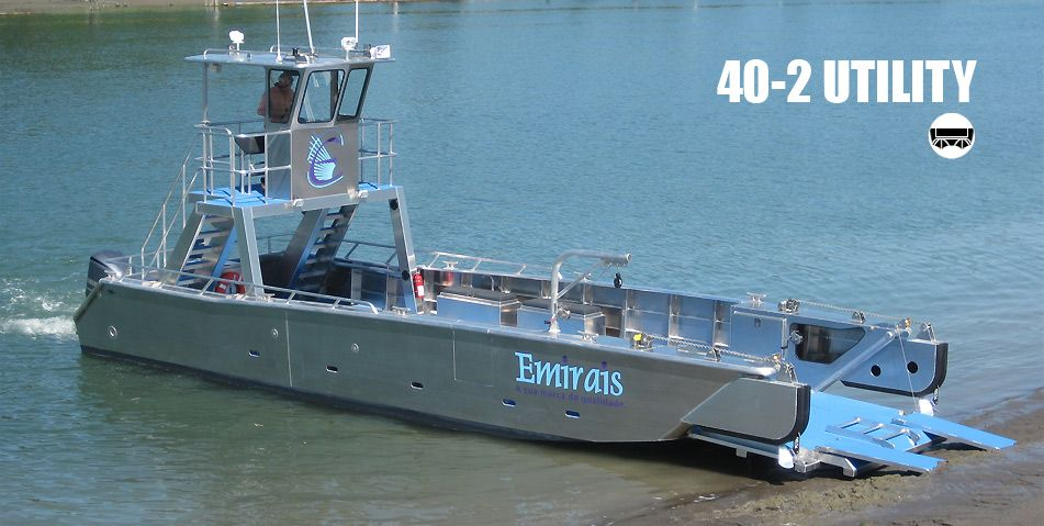 Munson Aluminum Boats - Custom welded aluminum boats, landing craft, workboats, patrol boats ...