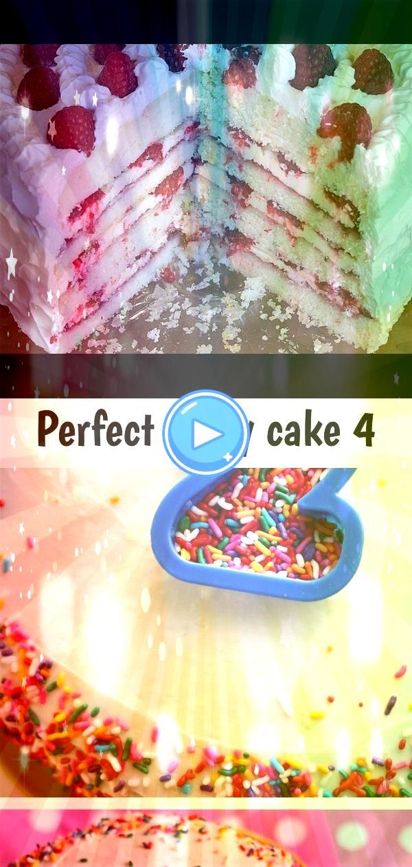 party cake 4 Perfect Party Cake recipe from  baked from Dorie Greenspans cookbook Baking From My Home to Yours home made sprinkles birthday cakePerfect Party Cake recipe...