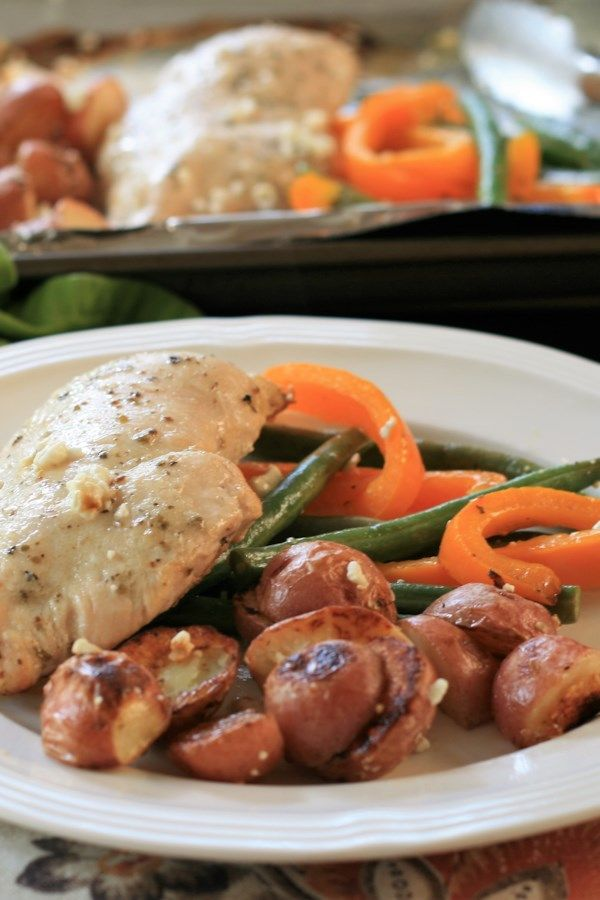 Sheet Pan Chicken Dinner for Two images
