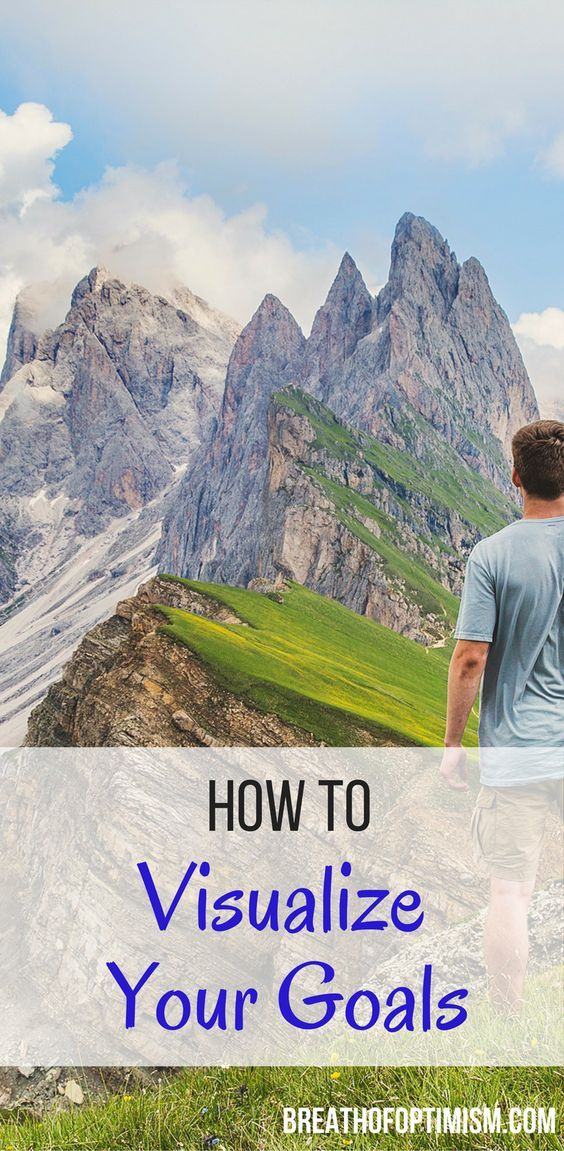 The Importance of Visualizing Your Goals. The best in the world use visualization to help them succeed. Learn how to harness the power of visualizing and start reaching goals and becoming more successful.
